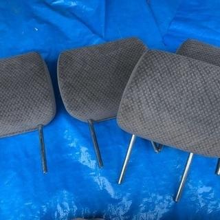 エスティマ 座席の頭部分×4