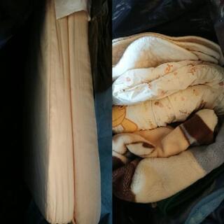 ベビーサイズの毛布、布団、マットレス、防水シート