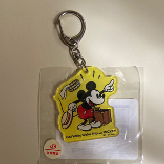 JR九州限定 ミッキマウスのキーホルダー ②