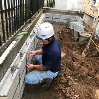お庭や家周りの外構工事や水道工事お任せ下さい✨