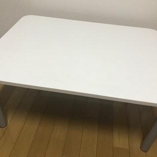 IKEA購入 白 ダイニングテーブル