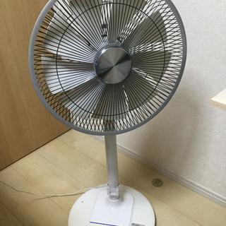 ロックなDCモーター扇風機、さしあげます 若年層優先