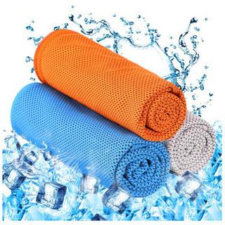 新品★冷却タオル 超冷感・超吸水・軽量・速乾 熱中症対策 UVカット