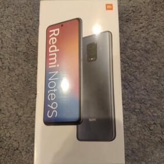 【未開封】Redmi Note 9S【グローバル版】
