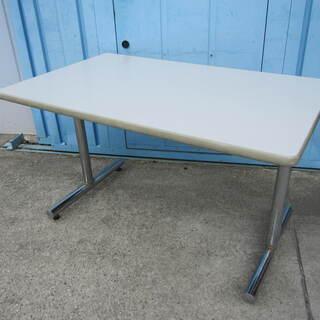 会議用テーブル 4人掛け W1200 T字脚
