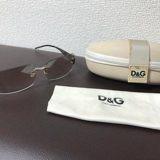 DOLCE&GABBANAの色入りサングラス