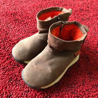 無料!子供用ショートブーツ 靴☆ナイキ☆13㎝☆スエード調