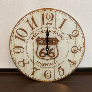 掛け時計 インテリア 綺麗