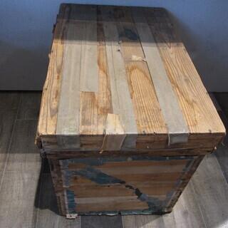 ★851★お茶屋 木製茶箱 43×67.5cm 高さ48cm 茶...