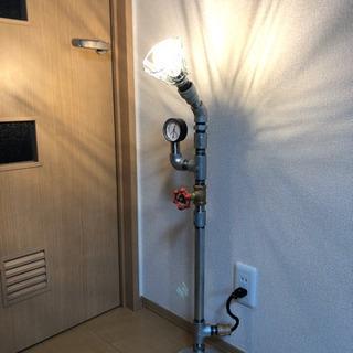 ガス管 間接照明