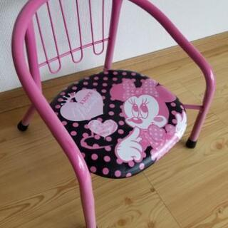 パイプ椅子 パイプチェアー ミニー 子供椅子 幼児