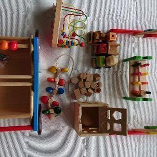 ベビー~幼児用 4万円相当の「木製おもちゃ 10点」 №1画像