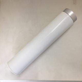 【新品】スリムボトル UV折りたたみ傘 ホワイト×ネイビー