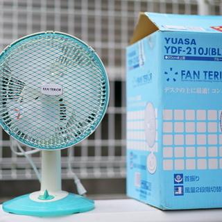 ユアサの扇風機 YUASA YDF-210J
