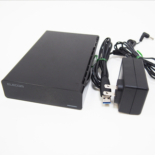 USB3.0対応外付けハードディスク ELD-XED030UBK...