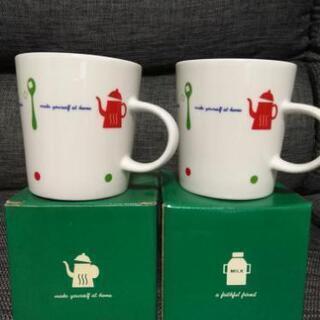 【未使用品】パレットプラザ マグカップ 2個セット