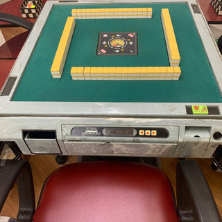 雀卓椅子サイドテーブル一式