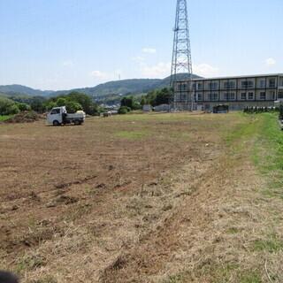 福岡、草刈り、空地、ジャングル、荒れ地、機械刈り、格安、きれい早い