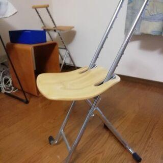 折り畳みチェア 高さ調整可能