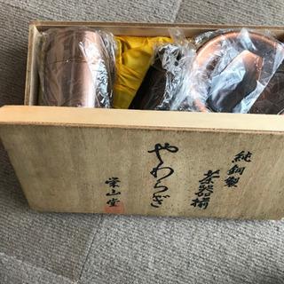純銅製 茶器揃え 栄山堂製です