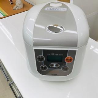 シーシーピー 17年式 BK-R60-WH 炊飯器 白