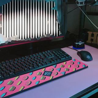 PCマット ピンク×パープル 未使用