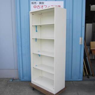 オープン書庫 ホワイト