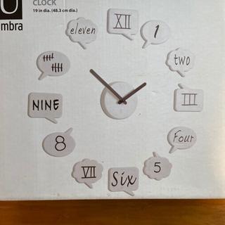 手描きウォール時計