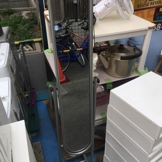 ☆中古 激安!! 立ち鏡 鉄製 インテリア家具 ¥500!!DF010
