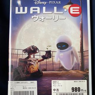 WALL・E  ウォーリー ピクサー 980+税で購入