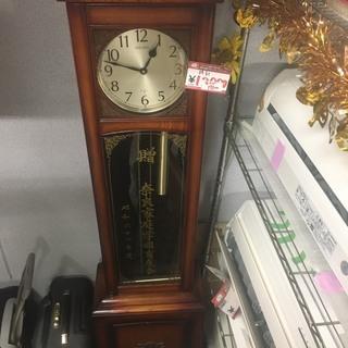 ☆中古 激安!!大型置き時計 柱時計 木製 インテリア家具 アン...