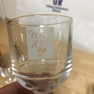 133、昭和レトロなワイングラス(MERCIAN)2個 − 岡山県