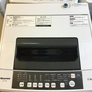 【送料無料・設置無料サービス有り】洗濯機 2018年製 Hise...