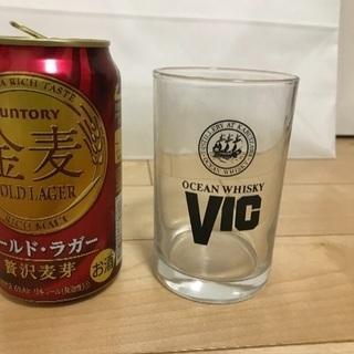 137、OCEAN WHISKY  VIC グラス  1個