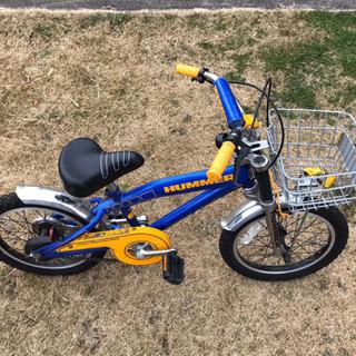 子ども自転車〜ハマー16インチ(中古)