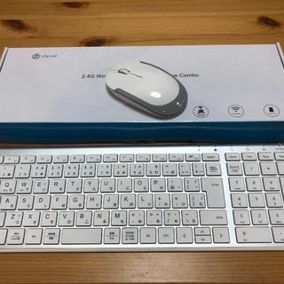 【葛飾区】ワイヤレスキーボード&マウス セット