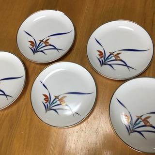 飛鳥窯 香蘭社 小皿 5枚セット