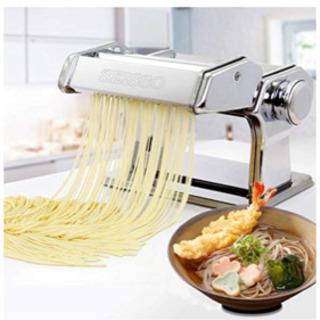 SEISSO 水洗える製麺機 パスタマシン そば打ち機 うどん ...