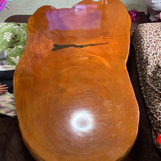 ケヤキ1枚板の座卓