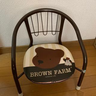 差し上げます ベビー用パイプ椅子