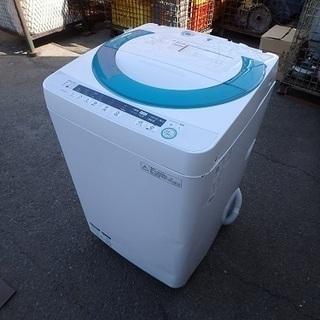 ★ガッツリ清掃済み ☆2014年製☆シャープ 全自動洗濯機 ES...