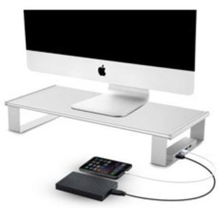 モニタースタンド USB3.0ポート 5Gbps高速データ…
