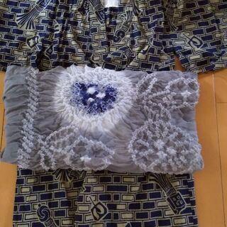 サイズ110センチ    浴衣と帯