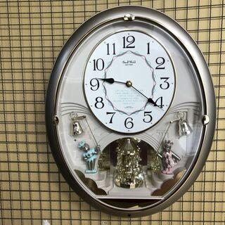 ★発送可★ 状態/動作〇 掛時計 スモールワールド 4MN…