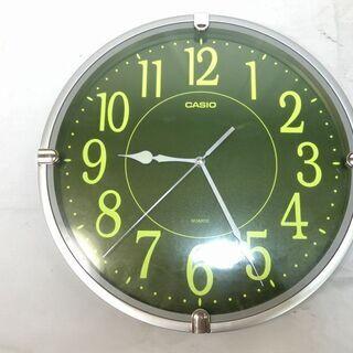 ★動作〇★ 掛け時計 CASIO LW 201 直径約34cm