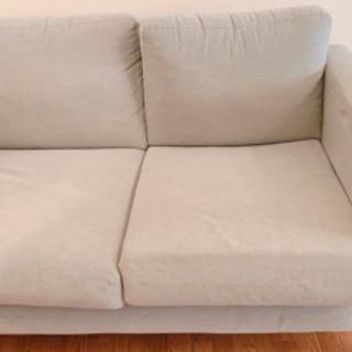 2人掛けのソファ(IKEA産)