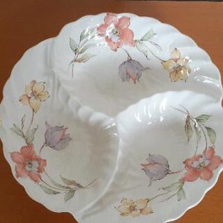 カフェ風ワンプレート皿  未使用品