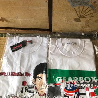 決まりました!未使用 鈴木亜久里選手のF1時代のTシャツ二枚セット