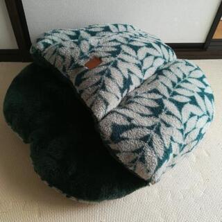 ペット用ベッド 犬 猫 美品 緑