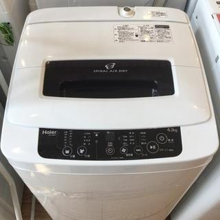 【限定特価】Haier 全自動洗濯機 JW-K42H 2014年...